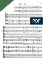 Agnus Dei , Gounod