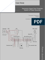 Harmonics Impact Over Protection System of Power Generator