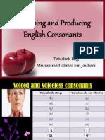 Phonetics - Nasals, Stops and Glides