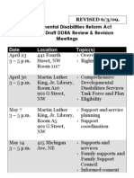 DDRA Review and Revision Mtg Calendar - LARGE PRINT, Updated 6.03.09
