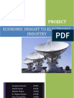 Economic Insight to Electronic Industry