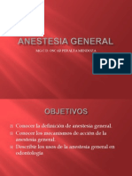 Anestesia General