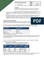Cables de Fibra Optica Clasificacion Definicion y Tipos FO - 2011