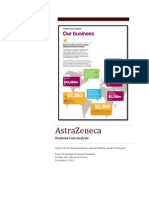 Astrazeneca Case Study Analysis