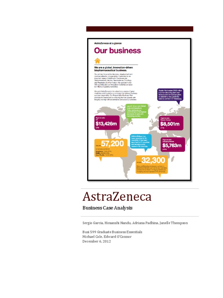 astrazeneca swot analysis Wikiwealth offers a comprehensive swot analysis of astrazeneca (azn) our  free research report includes astrazeneca's strengths, weaknesses, opportunities ,.
