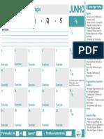Calendario Junho Mat