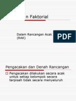 Faktorial Rak