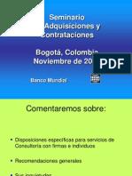 Diferencias entre servicios de consultoría y servicios generales