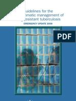 Management Drug Resistance