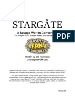 Stargate for Savage Worlds v0 6