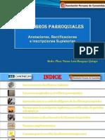 Los Libros (Registros) Parroquiales