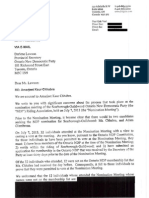 Letter to the NDP