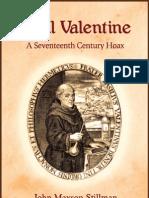 90331370 Basil Valentine a Seventeenth Century Hoax by John Maxson Stillman