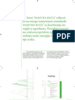 Pasivna kuća knjižica-Passive house booklet in croatian