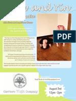 Flow & Yin Yoga Workshop