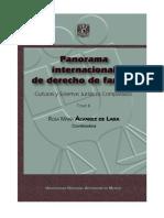 ÁLVAREZ DE LARA. Rosa María, PANORAMA INTERNACIONAL DE DERECHO DE FAMILIA. TOMO II. UNAM