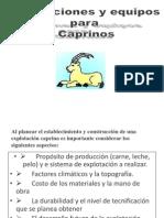Instalaciones y Equipo Para Caprinos