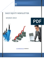 Free share Market Tips and Recommendations by-The-Equicom for 18-july 2013