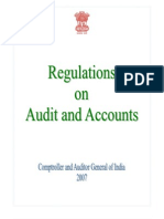 Regulations on Audit and Accounts 2007