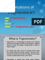 Ppt on Trigonometry(class 10)