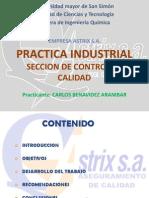 Presentación - Practica Industrial