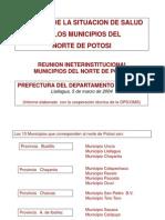 Norte Potosi Salud 2004
