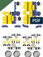 Minions PaperCraft (Small size)