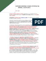 Zakon o radu-пречишћен текст