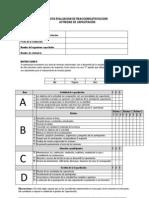 Pauta Evaluacion Reaccion Actividad Capacitacion Docentes