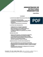 HINTZE, Jorge - Administracion de Estructuras