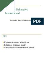 Power 4 Proyecto Educativo Institucional