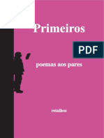 Poemas Aos Pares 1a Ed - eBook