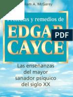 Cayce Edgar - Profecias Y Remedios