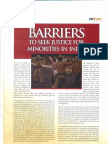 Barriers to Justice in India-Aridaman Jit Singh