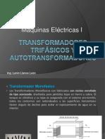 Transformadores trifásicos y autotransformadores