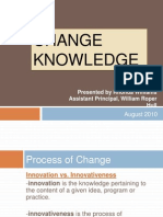 change knowledge presentation