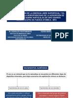 04 Caracterización de la Eneregía libre Superficial & MFA, O. Bustamante-D. Naranjo