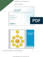 TOGAF V91 M1 Management Overview