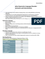 info sheet for mixed rec exp dis