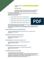 List of Standard Movement Types