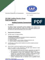 Auditing Customer Communications