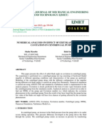 Numerical Analysis on Effect of Exit Blade Angle on Cavitation in Centrifu