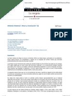 """Vista previa de """"Francisco Fernández Buey- Antonio Gramsci- Amor y revolución (I) - La Insignia"""""""