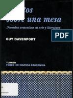 Objetos Sobre Una Mesa-Guy Davenport