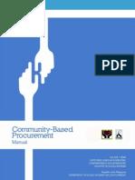 Community-Based Procurement Manual (Nov2011)