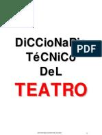 Diccionario Tecnico Del Teatro