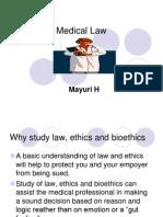 Mayuri H - Medical Law