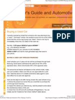 Car Owner's Guide and Automotive News