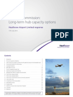 Heathrow Airport Ltd. - Proposals for Providing Additional Airport Capacity in the Longer Term