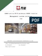 2.4g Active RFID Warehousing Location Management System